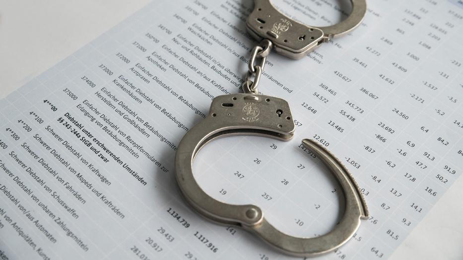 Niedrigste Zahl an verübten Straftaten seit 1992