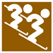 Symbol Freestyle Skiing