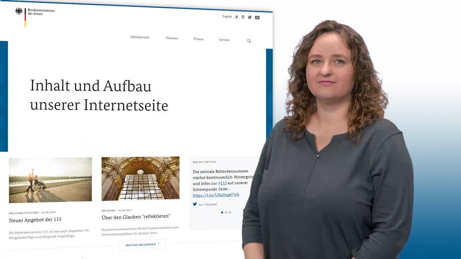 Bmi Gebärdensprache Inhalte In Deutscher Gebärdensprache Dgs