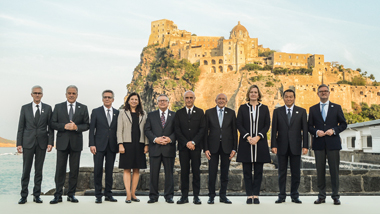 Participants of the G7 Meeting of Ministers of the Interior