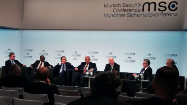 Federal Minister of the Interior de Maizière at the 54th Munich Security Conference