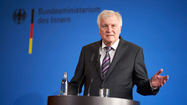 Federal Minister of the Interior Horst Seehofer
