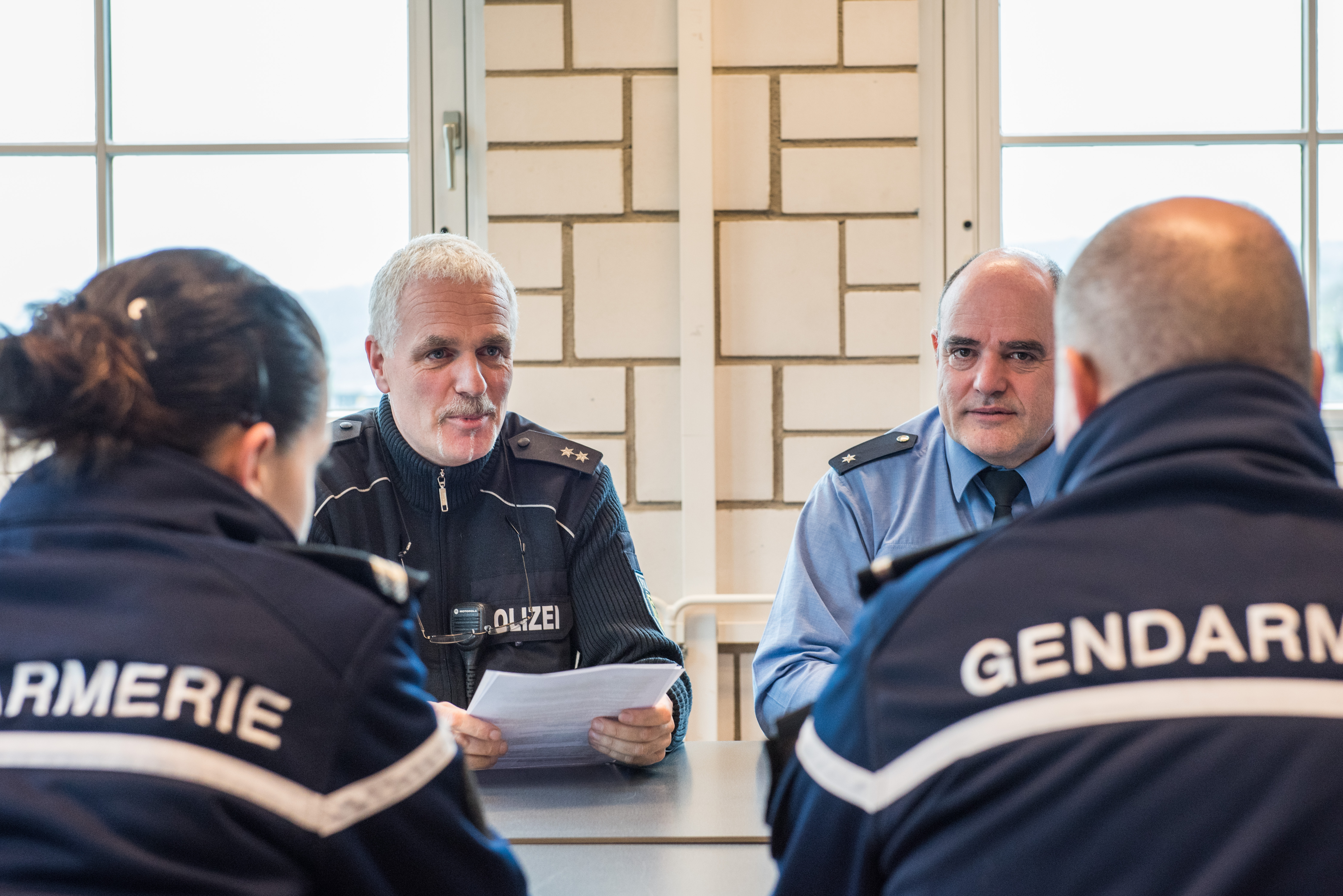 cooperation between german and french police officers larger version opens in new window