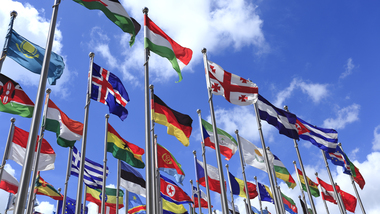 International flags (refer to: International cooperation)